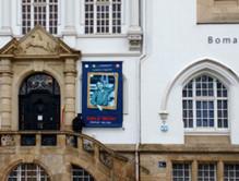 RWLE Moeller_Banner vor dem Museum